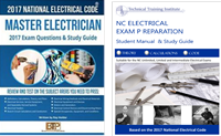 NC Electrical Exam Prep U, Ltd, Int - Student Manual & Home Study Set (2 Book Set)
