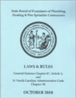 2019 NC Laws & Rules