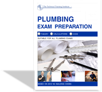 NC Plumbing Exam Prep P-1 Student Manual & Home Study Guide