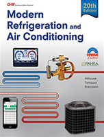 Modern Refrigeration and Air Conditioning, 20 Edition (required for exam)