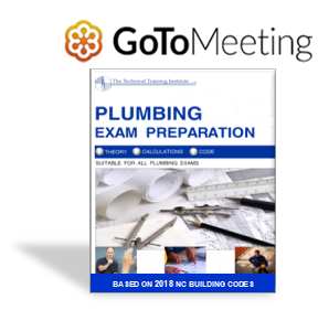 NC Plumbing Exam Prep Course - One Day - GoToMeeting