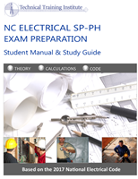 NC Electrical SP-PH Exam Prep - Student Manual & Home Study Guide